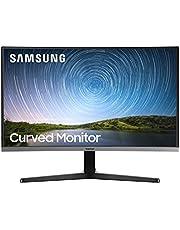 """Samsung C27R502 - Monitor Curvo de 27"""" sin marcos Full HD (1920×1080, 4 ms, 60 Hz, FreeSync, LED, 16:9, 3000:1, 1800R, 178°, 250 cd/m², Flicker Free, HDMI, Base en Y) Gris Oscuro"""