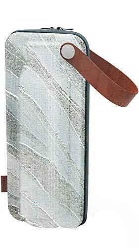 Quokka Flow - Estuche Eva White Stone  Portabotella, Durable, Impermeable y Ligero - Estuche para Botella de Cristal