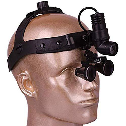 MAGO chirurgisch vergrootglas 2,5 x 3,5 x 420 mm werkafstand verrekijker hoofdband vergrootglas instelbaar afstand interpupillaire voor chirurgie Dental wervelkolom ooggeneeskunde orthopedische