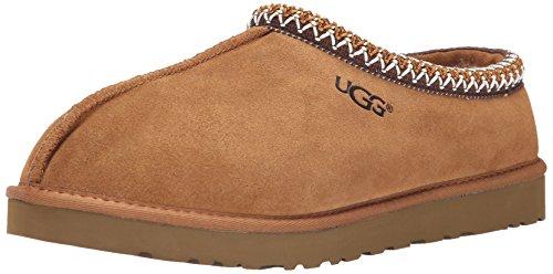 UGG Australia Men's Tasman Chestnut Suede Slippers - 11 D(M) US