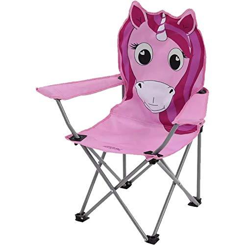 Unicorn Regatta Kids Animal Lightweight Folding Camping Chair Unicorn,...