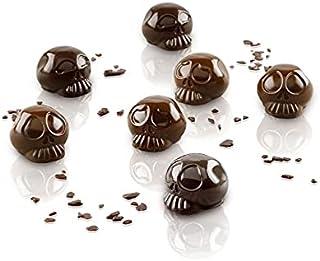Silikomart SCG055 Moule en silicone chocolat tête de mort