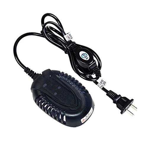 SYTH Calentador de Acuario Sumergible de Tanque de pecera Termostato automático Mini pequeño,con Lectura Digital de Temperatura LED y Controlador de Temperatura Externo 25W / 50W / 100W