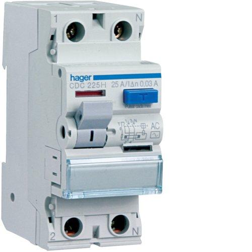 Hager CFC263H-Interruptor diferencial ACC. 2P 300 MA 63 A 2 M