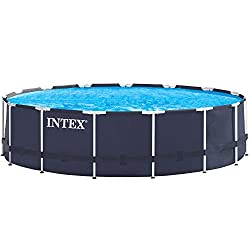 Premium-Pool 457x122 cm Schwimmbad Metallrahmen