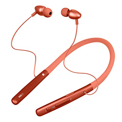 Zebronics Zeb-Soul Neckband with 11.5hrs Playback Time,Supports Bluetooth,Voice Assistant with Mic(Red)