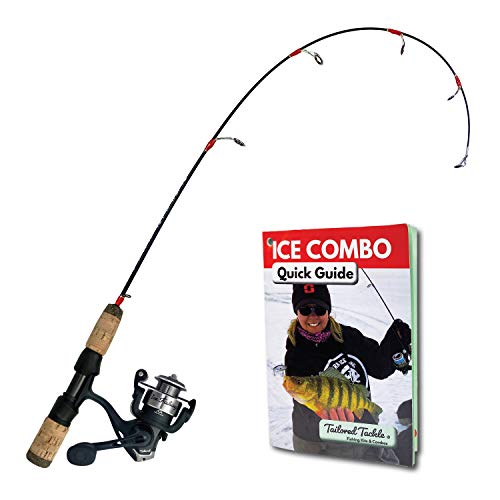 Tailored Tackle Ice Fishing Rod and Fishing Reel Combo