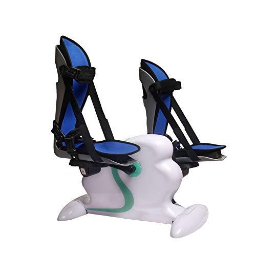 CANDYANA Elektrisches Pedal-Trainingsgerät Mini Stationäres Fahrrad Für Beine Und Arme Übung Langlebige Bein- Und Armwiederherstellung Mit LCD-Display