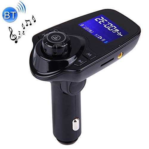 ALLSHOPSTOCK (#40) Bluetooth FM Transmitter Car MP3 Player with LED Display, Support Double USB Charge & Handsfree & TF Card & U Disk Music Play Function