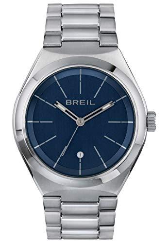 Reloj Breil colección Bend Only Time Movimiento - Brazalete de Acero y Cuarzo 3h para Hombre ES One Size