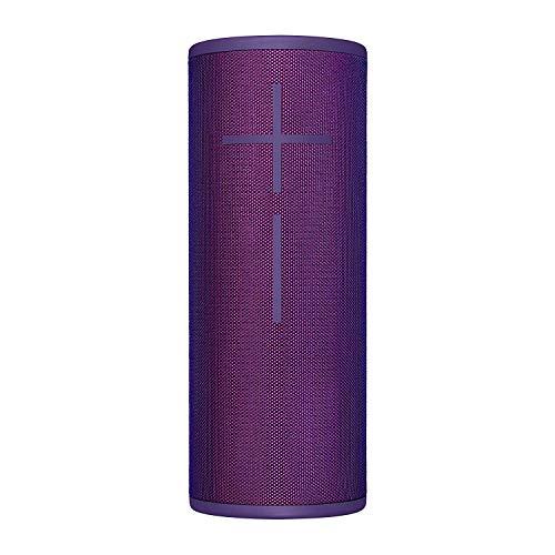 Ultimate Ears Megaboom 3 Tragbarer Bluetooth-Lautsprecher, 360° Sound, Satter Bass, Wasserdicht, Staubresistent & Sturzfest, One-Touch-Musiksteuerung, 20-Stunden Akkulaufzeit - ultraviolet purple/lila