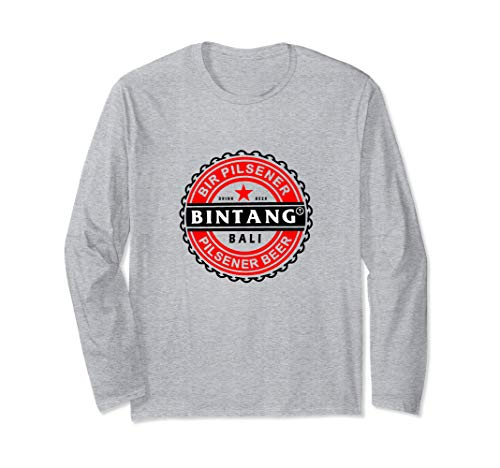 Bali Bintang Bier Souvenir Langarmshirt