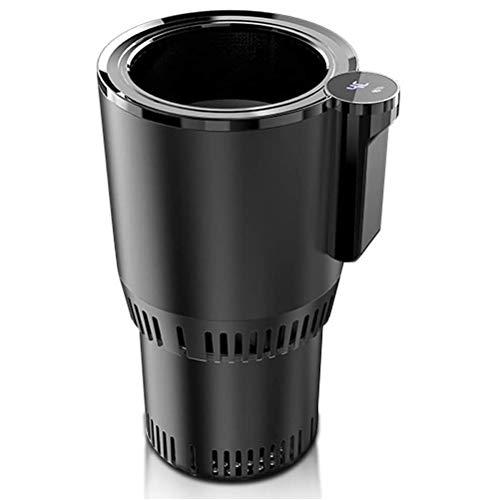 YIPUTONG Auto Tassenwärmer, Kühler Kühlbecher Auto Elektrische Heizungs Tasse 12V / 3A Auto Mini Kühlschrank Autotassenwärmer und Kühler Autotassenhalter Getränke Gefrierschrank Heizung