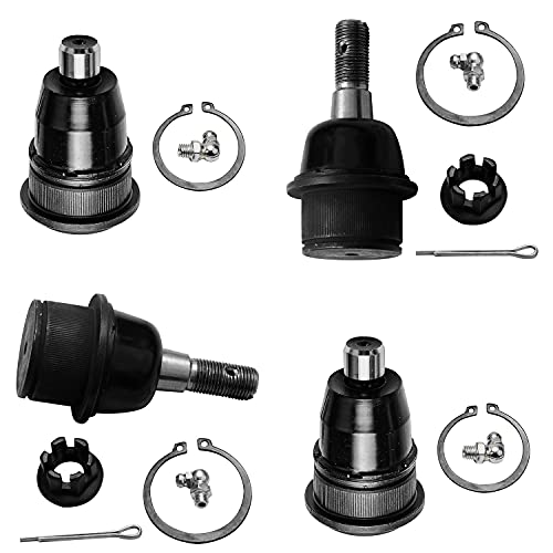 Detroit Axle - Front Upper Lower Ball Joints Replacement for Buick Chevy GMC...