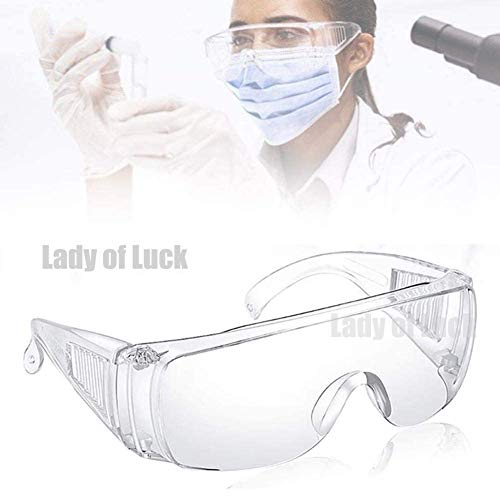 Gafas de Seguridad, Lentes de Protectoras Antivaho Transpare