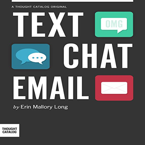 Text/Chat/Email audiobook cover art