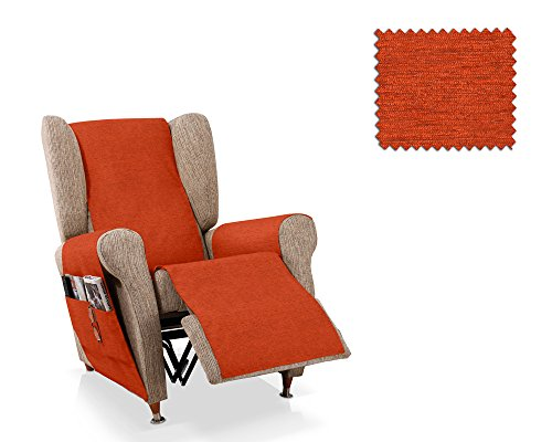 JM Textil Salvapoltrona reclinabile Biggie Dimensione 1 Posto (55 Cm.), Colore 19 (Vari Colori Disponibili)