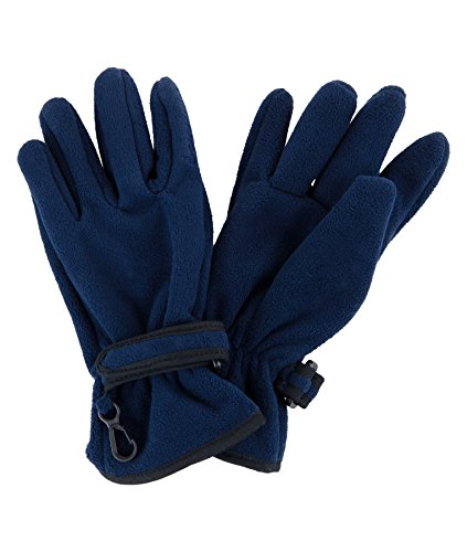 Döll Fingerhandschuhe Fleece Gants, Blau (Navy Blazer 3105), 8 Homme