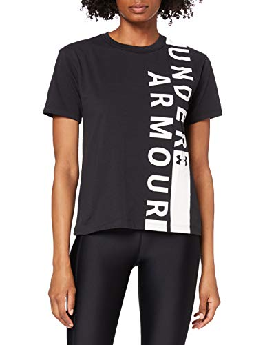 Under Armour 1320616-001 T-Shirt Femme Noir FR : XS (Taille Fabricant : XS)