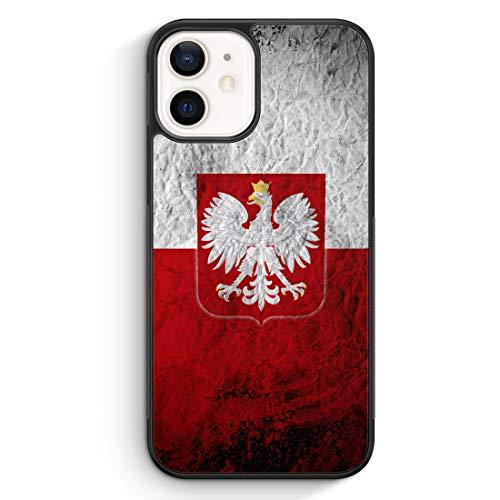 Polen Splash Flagge Polska Poland - Silikon Hülle für iPhone 12 - Motiv Design...