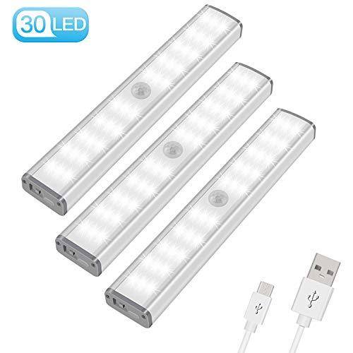 6 LED Wireless PIR Auto Bewegungsmelder Infrarot Nachtlicht Kabinett Treppenlich