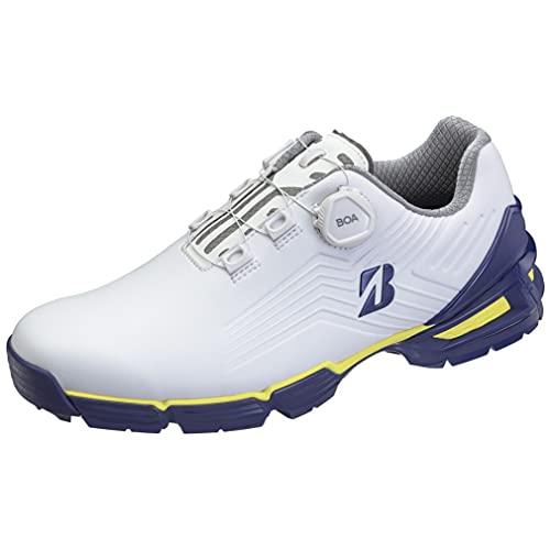 [Bridgestone] [ブリヂストンゴルフ] ゴルフシューズ ブリヂストンゴルフ メンズ ネイビーイエロー 26.5 cm 3E