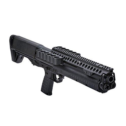 "Mesa Tactical 6/6-12Ga SureShell Saddle with Rail 13"" Fits Kel-Tec KSG, Black"