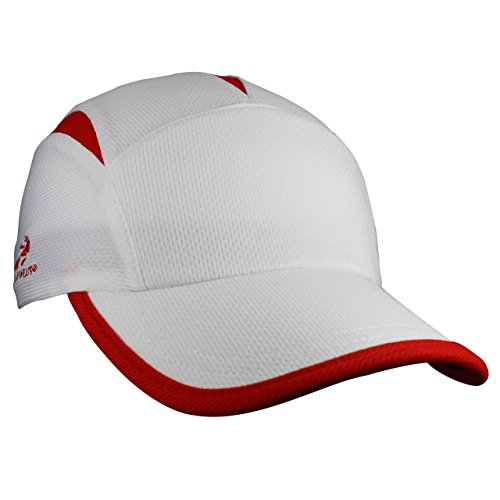 Headsweats Go Casquette Blanc/Rouge