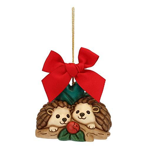 THUN  - Addobbo per Albero di Natale Coppia di Ricci Maxi