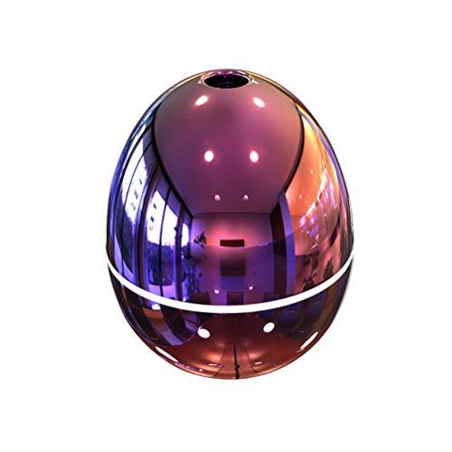 VORCOOL Humidificador de Aroma, purificador de Aire Mini difusor de Aceite Esencial de 50 ML USB para Sala de Estar del Dormitorio del automóvil (Rosa)