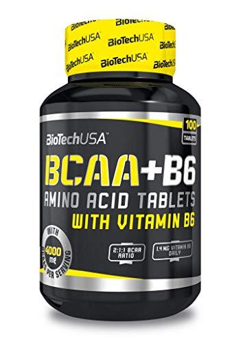 BioTechUSA BCAA+B6, 100 Tablets, 230 g