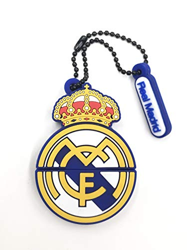 Real Madrid Pendrive 32GB Forma Escudo RM