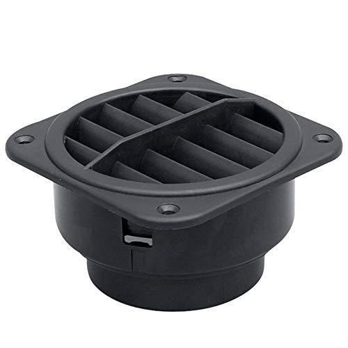 Cuasting 60mm de salida de ventilación de aire del coche calentador plano conducto del calentador de aire para Webasto Eberspacher Estacionamiento calentador