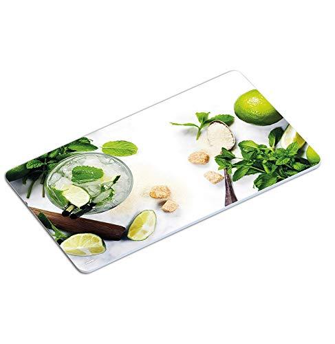 KESPER 31218 Decor Planche à Petit-déjeuner Mojito au mélamine, Multicolore, 23,5 x 14 x 0,4 cm
