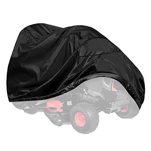 Fransande New Outdoor Noir Heavy Duty Riding Lawn Mower Cover Housse de éTanche pour Tondeuse