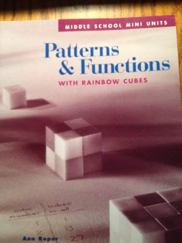 Price comparison product image Patterns & Functions with Rainbow Cubes (Middle School Mini Units)