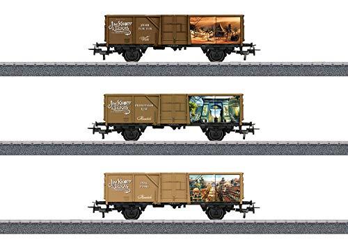 """Märklin Start up 44816 - Offenes Güterwagen-Set """"Ping Pong, Prinzessin Li Si und Herr Tur Tur"""", Spur H0"""