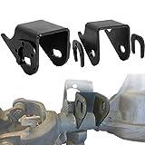 Mountainpeak Front Lower Control Arm Bracket Fit For Jeep TJ XJ ZJ MJ, Heavy Duty Axle Side Mount Brackets