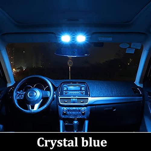 WUYANZI Ajuste para BMTXMS FIT FOR Audi A3 8L 8V 8P A4 B5 B6 B7 B8 A5 A6 C5 C6 C7 A7 A8 D2 D3 CANBUS Vehículo LED Mapa Interior Doma Tronco Light Kit