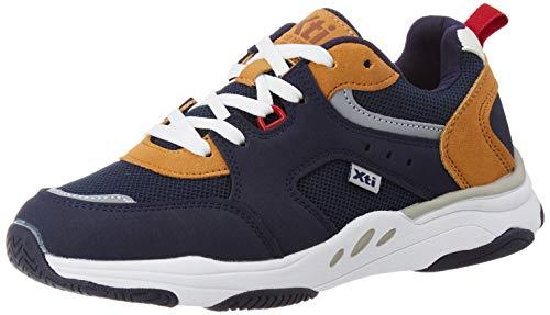 XTI 57157, Zapatillas para Niñas, Azul (Navy Navy), 34 EU