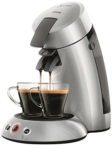 Philips hd6556/51 cafetera MONODOSIS de café Senseo Original 2.5 + Plata 0, 75 litro