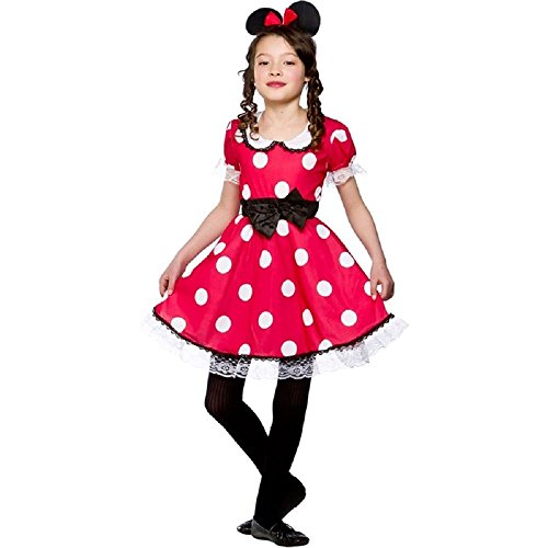 Cute Mouse Girl - Kids Costume 11 - 13 years