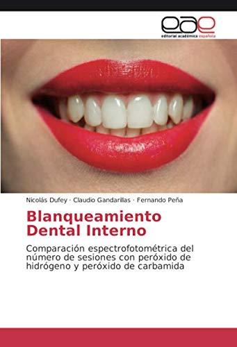 Blanqueamiento Dental Interno: Comparación espectrofotométrica del número de sesiones con peróxido de hidrógeno y peróxido de carbamida