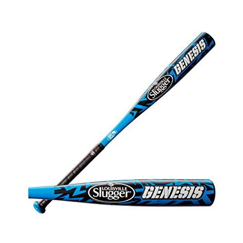 Louisville Genesis Aluminum Youth Baseball Bat - Black/Blue - 28/18