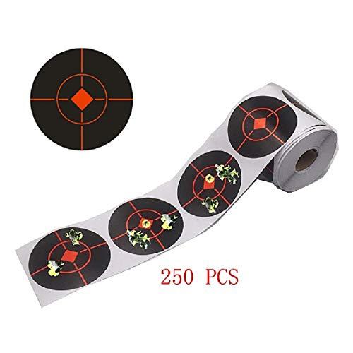 Pistola de Aire//Soft Target Shooting Target Caza Objetivo Airgun Field Target W 4/Bullseyes Anillo