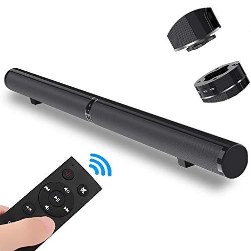 XGLL Barra de Sonido, Altavoz de Sonido Envolvente para Cine en casa con Cable e inalámbrico, TV, Bluetooth 4.2 Soporte AUX, óptico, HDMI ARC, RCA, subwoofer