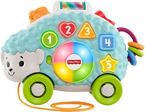 Fisher-Price - Parlamici Baby Riccio Forme e Colori Giocattolo Educativo con Luci, Suoni e Musica per Stimolare il Bambino, dai 9+ Mesi, GJB09
