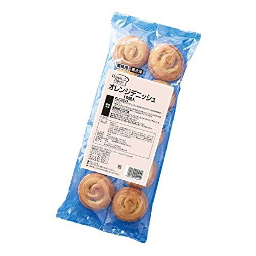 【冷凍】テーブルマーク オレンジデニッシュ 10個 業務用 冷凍パン 菓子パン 朝食