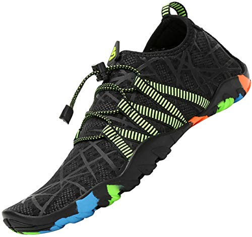 Zapatos de Agua Mujer Escarpines de Hombre Verano Outdoor Secado Rápido Surf Calzado Natacion,Gr.35-46 EU