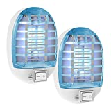 Bug Zapper, Fly Traps for Indoor Insects & Mosquito Killer, Bug Killer with Blue Light for Home, Kitchen, Bedroom, Baby Room, Living Room